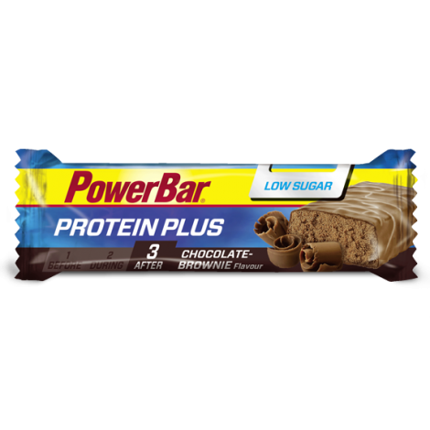 Protein Plus LOW SUGAR - Chocolate + Brownie