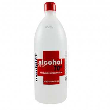 Alcohol 70º - 1000ml