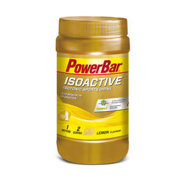 Isotonic Sports Drink / Isoactive 600gr - Limón