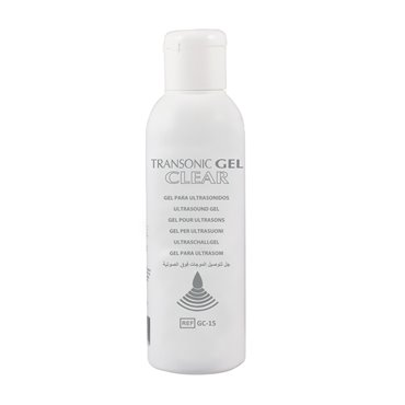 Gel para Ultrasonidos - Transparente GC-15 - 250ml