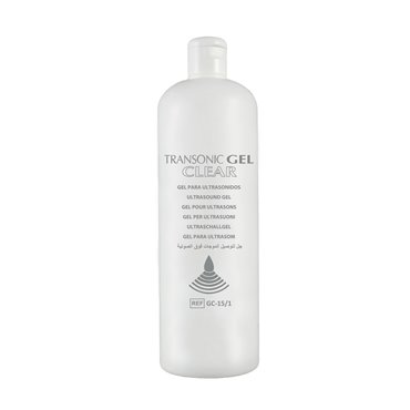 Gel para Ultrasonidos - Transparente GC-15/1 - 1000ml