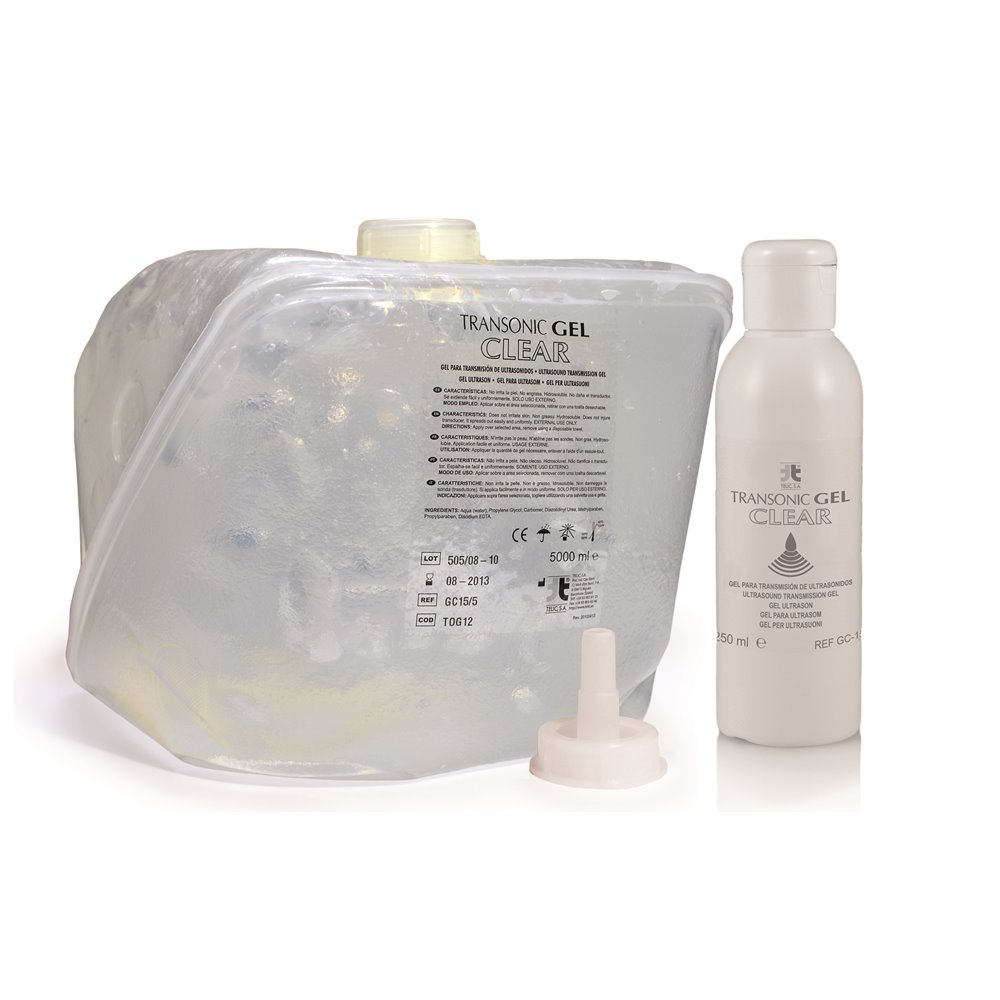 Gel para Ultrasonidos - Transparente GC-15/5 - 5000ml
