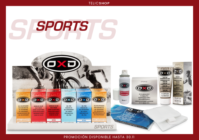 PRODUCTOS OXD SPORT